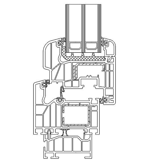 Schüco Corona SI 82 passiv